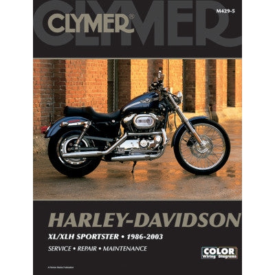 Clymer Motorcycle Repair Manual - Sportster 1986-2003