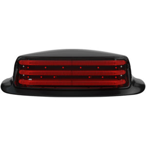 Custom Dynamics LED Fender Tip Taillight - Smoke Lens - Black