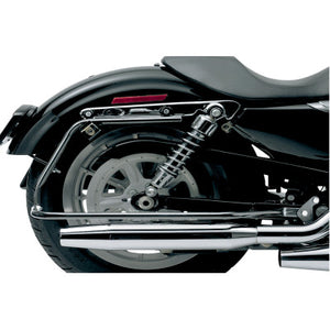 Cycle Visions Bagster Saddlebag Mount - Sportster - Black