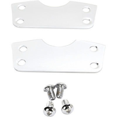 "Cycle Visions Fender Risers for  21"" Wheels - Chrome"