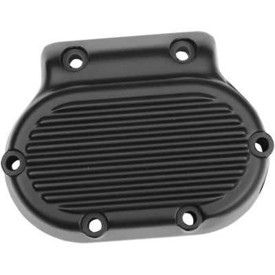 Drag Specialties 5-Speed Transmission Side Cover - 1988-2006 Big Twin Models - Satin Black
