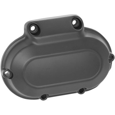 Drag Specialties 6-Speed Transmission Side Cover - 2006-2017 Big Twin Models - Satin Black