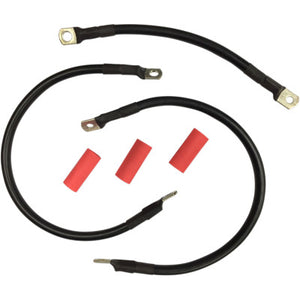 Drag Specialties Battery Cable Set - 1965-1984 FLH & 1967-1975 Sportster Models