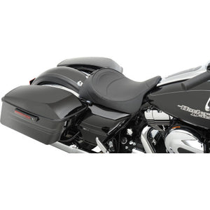 Drag Specialties Seats Backrest Compatible Solo Seat - 2008-2020 Touring - Mild Stitched