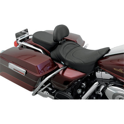 Drag Specialties Seats Narrow Pillion Pad - 1997-2020 Touring - Mild Stitched