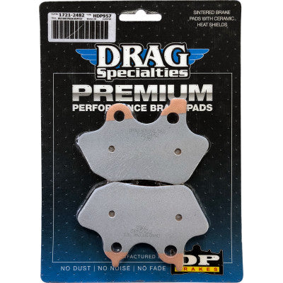 Drag Specialties Sintered Metal Harley Brake Pads - Front - 2005 V-Rod - OEM #44082-00C