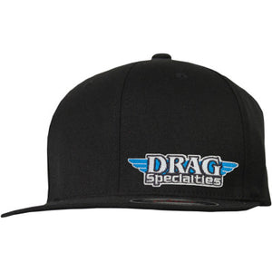 Drag Specialties Flat Bill Hat - Cobalt Cycles