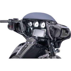 "Fat Baggers Inc. 1 1/4"" EZ Install Pointed Top Chrome Handlebar - 12"""
