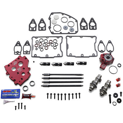 Feuling New Style Race Series 630C Complete Chain Drive Camchest Kit - 2007-2017 Twin Cam Models (INCLUDES 2006 DYNA)