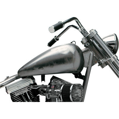 Drag Specialties 3.5 Gallon Flat Side Gas Tanks - 1984-1999 Softail Models