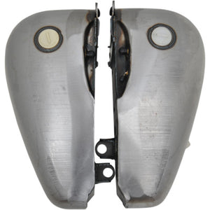 Drag Specialties 6 Gallon Flat Side Gas Tanks - 1984-1999 Softail Models