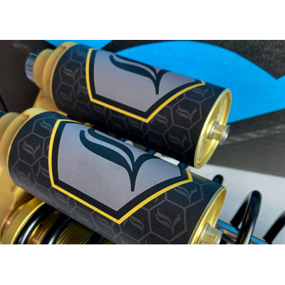 Legend Suspension Revo-Arc Reservoir Decal - Gold