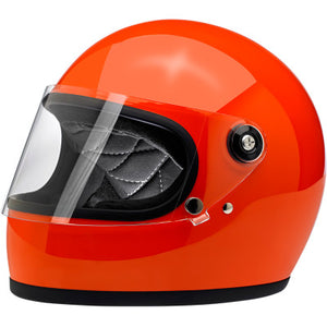 Biltwell Gringo S Helmet - Gloss Hazard Orange