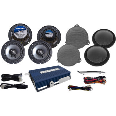 Hogtunes Amplified Four Speaker Kit