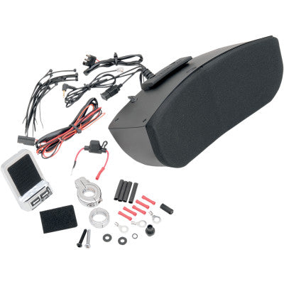 Hogtunes Amplified Speaker Kit for Memphis Shades Batwing Fairings