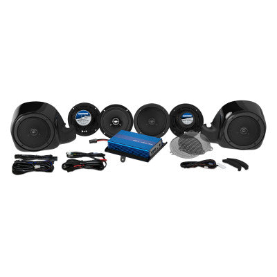 Hogtunes Six Speaker and 200-Watt Amplifier Kit