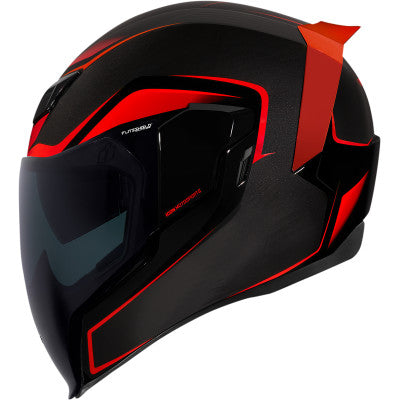 Icon Airflite Helmet - Crosslink - Red