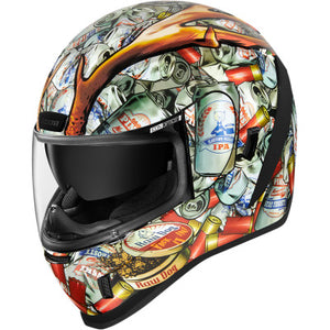 Icon Airform Helmet - Buckfever - White