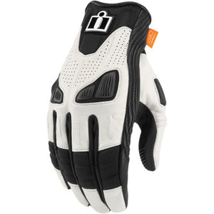 Icon Automag 2 Gloves - White