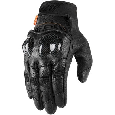 Icon Contra2 Gloves - Black
