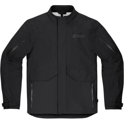 Icon Stormhawk Jacket CE - Black