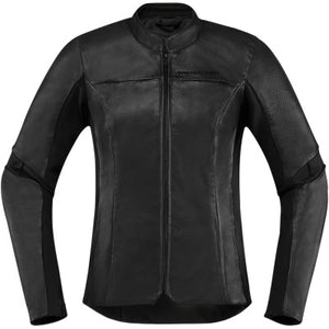 Icon Women's Overlord Jacket - Black
