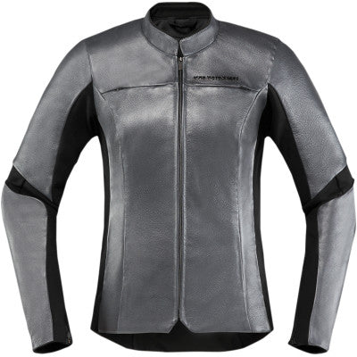 Icon Women's Overlord Jacket - Charcoal