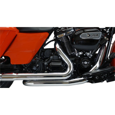 Khrome Werks Replacement X-Over Headers - Touring - Chrome
