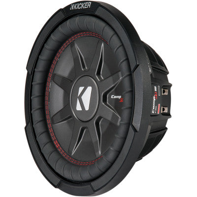 "Kicker CompRT Shallow-Mount 10"" Subwoofer - 400 Watt"