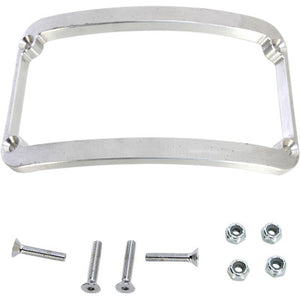 Klock Werks WFB Benchmark Stretched Rear Fender License Plate Frame - Raw