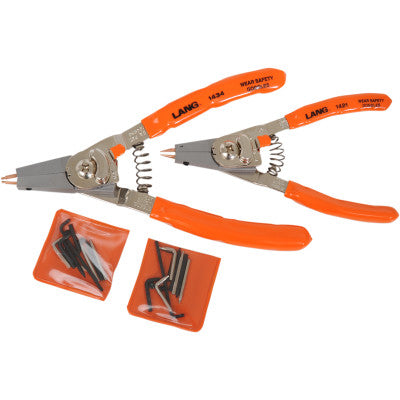 Lang Tools Two-Piece Retaining Ring Pliers Set