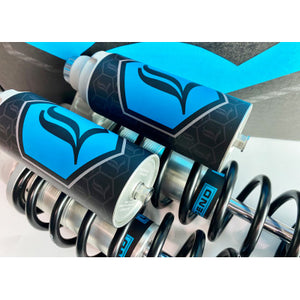 Legend Suspension Revo-Arc Reservoir Decal - Light Blue