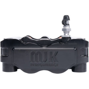 MJK Performance Radial Mount Mono Block Brake Caliper - Black - Left
