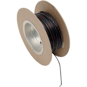 NAMZ 100' Wire Spool - 18 Gauge - OEM Color Black/Red