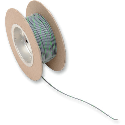 NAMZ 100' Wire Spool - 18 Gauge - OEM Color Gray/Green