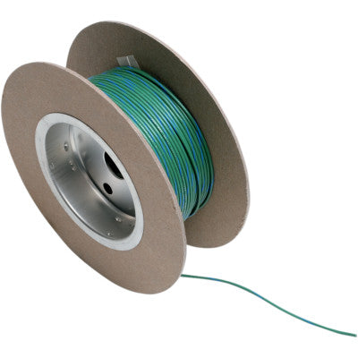 NAMZ 100' Wire Spool - 18 Gauge - OEM Color Green/Blue