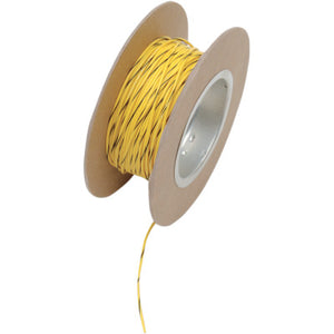 NAMZ 100' Wire Spool - 18 Gauge - OEM Color Yellow/Black