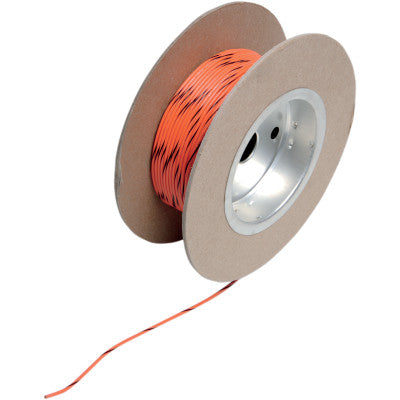 NAMZ 100' Wire Spool - 18 Gauge - OEM Color Orange/Black