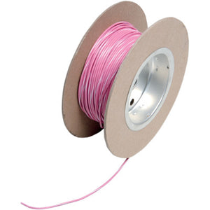 NAMZ 100' Wire Spool - 18 Gauge - OEM Color Pink/White