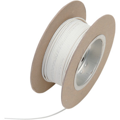 NAMZ 100' Wire Spool - 18 Gauge - OEM Color White