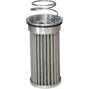 "PC Racing Flo ""Drop-In"" Oil Filter - Stainless Steel"
