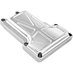 Performance Machine (PM) Formula 6-Speed Transmission Top Cover - 2006-2017 Big Twin Models - Chrome