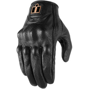 Icon Pursuit Classic Perf Gloves - Black