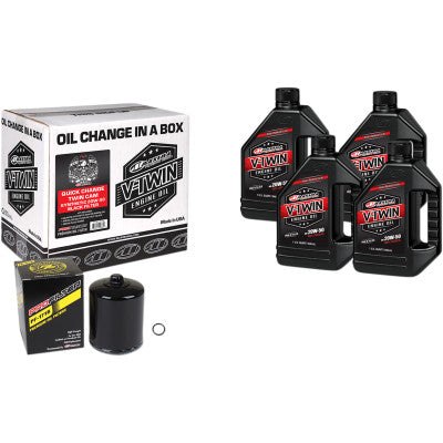 Maxima Racing Oils Quick Oil Change Kit - Twin Cam