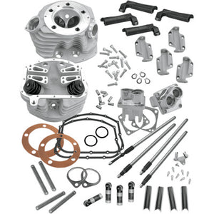 S&S Cycle Retro Top-End Conversion Kit - 1966-1984 Big Twin - Cobalt Cycles
