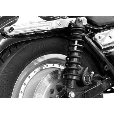 "Legend Suspension REVO-A Adjustable Coil Suspension - 1984-2000 Harley FXR - Standard - 13"" - Black - Cobalt Cycles"