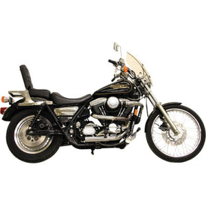"Legend Suspension REVO-A Adjustable Coil Suspension - 1984-2000 Harley FXR - Heavy Duty - 13"" - Gold"