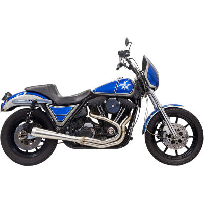 Bassani Road Rage III 2:1 Exhaust System - EVO FXR - Stainless Steel - Cobalt Cycles
