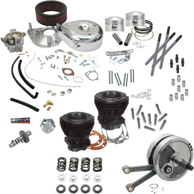 "S&S Cycle 93"" Hot Setup Kit - 1978-1984 Shovelhead"