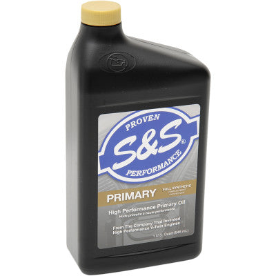 S&S Cycle High-Performance Full-Synthetic Primary Oil - 1 Quart